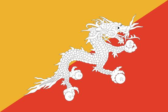 bhutans-flagga