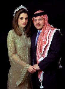 HM Kung Abdullah och Drottning Rania