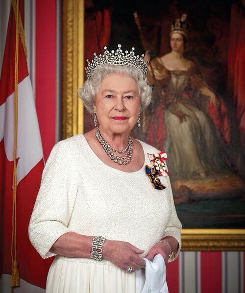 Kanadas staschef HM Drottning Elizabeth II