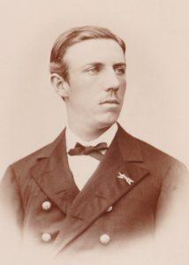 Prins Oscar Bernadotte.